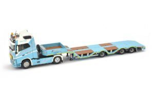 CEPELLUDO – OSDS44-03WEB SEMI LOWLOADER WITH VOLVO FH04 GLOBETROTTER 4X2 – 551.23.92 – 1:50