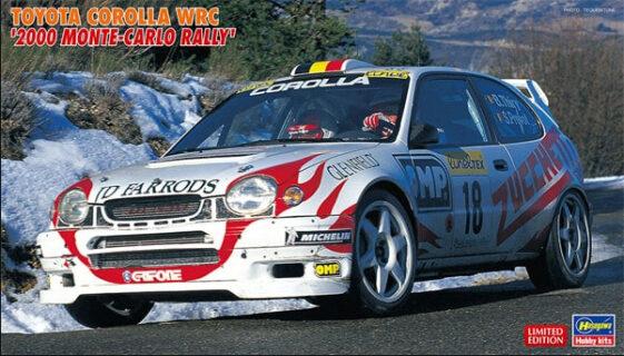 HASEGAWA 20396 1/24 Toyota Corolla WRC 2000 Monte-Carlo Rally  B.THIRY – S.PREVOT
