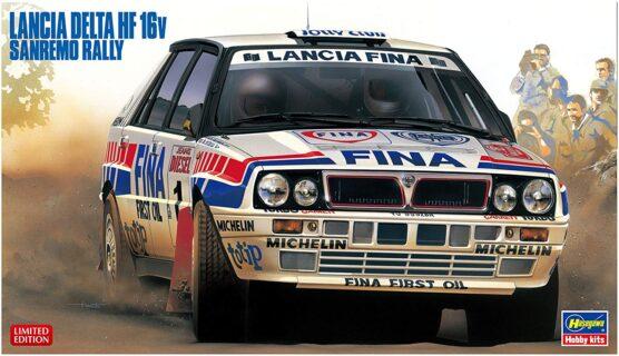HASEGAWA – LANCIA – DELTA HF INTEGRALE 16V FINA N 1 WINNER RALLY SANREMO 1991 D.AURIOL – B.OCCELLI