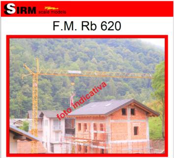 F.M. Rb 620 – Sirm Scale Models – 1/50 – Su ordinazione – serie limitata ed esclusiva