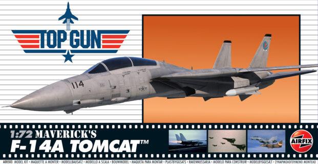 AIRFIX A00503 1/72 Top Gun Maverick's Grumman F-14A Tomcat