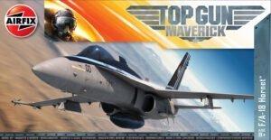 AIRFIX A00504 1/72 Top Gun Maverick's McDonnel Douglas F/a -18 Hornet