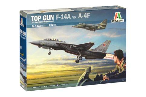 ITALERI – GRUMMAN – A-4F + F-14A TOMCAT U.S.A. NAVY FIGHTER WEAPON SCHOOL 197 – Top Gun –