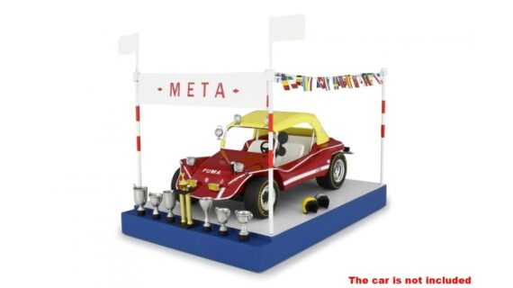 Kit Podio / Traguardo Meta per Puma Dune Buggy 1:18 Laudoracing  Models – Bud Spencer – Terence Hill –