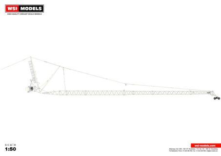 Premium Line; LIEBHERR LTM 1500 8.1 JIB WHITE – 1:50 – WSI – 04-2111