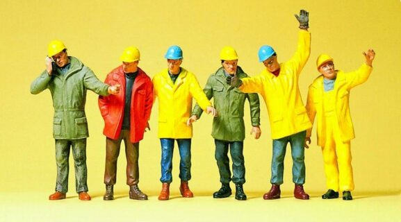 Preiser 68214 Operai – Personaggi da cantiere – 1:50
