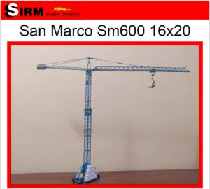 San Marco Sm600 16×20 – Sirm Scale Models – 1/50 – Su ordinazione – serie limitata ed esclusiva