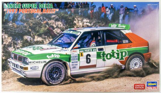 HASEGAWA 20457 1/24 Lancia Super Delta 1993 Portugal Rally – Aghini – Farnocchia