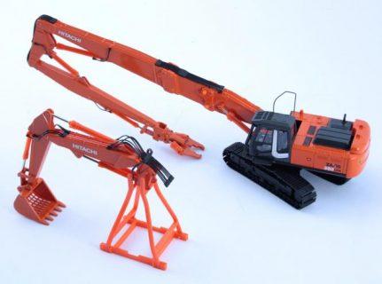 HITACHI Excavator ZAXIS 350-3 – Doppio braccio demolitore e setaccio – 1/50 – 30104/1