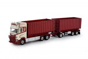 T.B.P. Scania Next Gen S730 haakarm met aanhanger – TEKNO – 80778 – 1:50