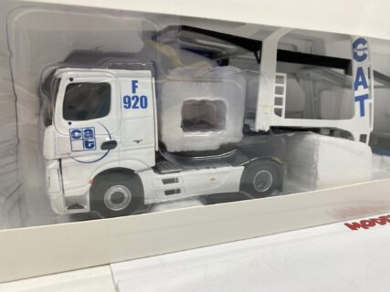ELIGOR – MERCEDES BENZ – ACTROS 2 1845 TRUCK CAR TRANSPORTER CAT GROUPE 2016 – 1/43