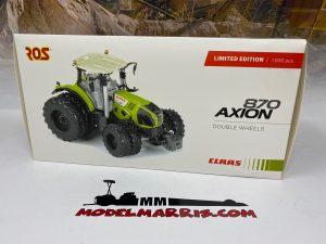 *** SOTTOCOSTO*** Claas Axion 870 8 wheel version  limited edition – Ros – 7-301580 – 1/32