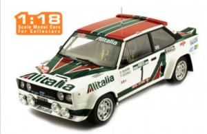 IXO-MODELS – FIAT – 131 ABARTH ALITALIA N 1 RALLY PORTUGAL 1978 S.MUNARI – P.SODANO