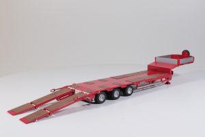 T.B. Goldhofer with semi-lowloader 3 axle – TEKNO – 55012 – 1:50