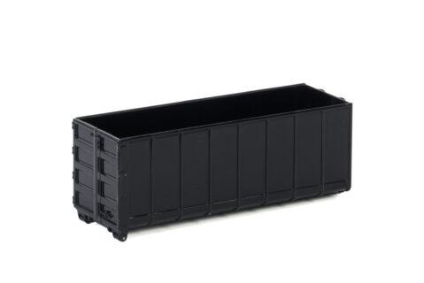 Premium Line; HOOKLIFT CONTAINER BLACK 40M3 – WSI – 04-2092 – 1:50