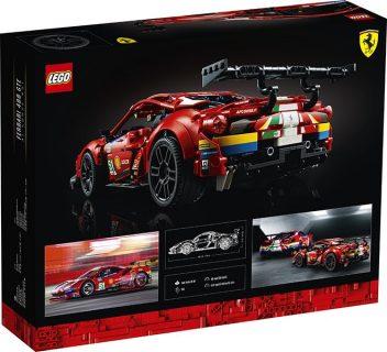 *IN ARRIVO* Lego 42125 Technic – Ferrari 488 GTE AF Corse #51