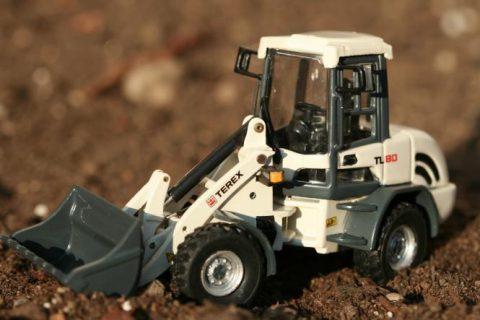 TEREX wheel loader TL80 – BYMO – 25013 – 1:50
