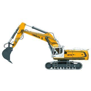 *NEWS UFFICIALE ITALIA* HUINA K970 KABOLITE 1:14 – Full metal – RC Hydraulic Excavator – 51kg *** Spese di spedizione a parte***