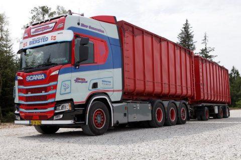 SB Transport Scarrabile Scania – TEKNO – 76284 – 1:50