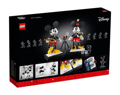 Lego Personaggi costruibili di Topolino e Minnie Disney 43179