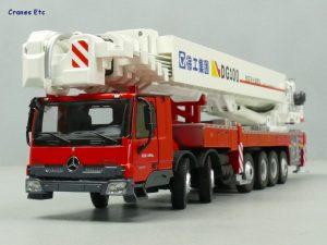 XCMG DG100 Aerial Platform Fire Truck – YAGAO – 1:50