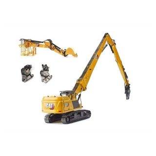 *Preordine Giugno '21* Caterpillar 352 Ultra High Demolition – Escavatore DEMOLITORE – DIECAST MASTER – 85663 – 1:50