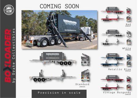 * PREORDINE * Drake; BoxLoader Corporate livery + 20FT Container – WSI – ZT09245 – 1:50