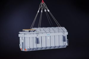 Heavy Transformer with Lifting Cables – IMC – 33-0174 – 1:50