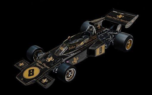 *PREORDINE* LOTUS 72D 1972 BRITISH GP Emerson Fittipaldi Campione del mondo F.1 1972 – POCHER – 1/8 *  CONSEGNA NOVEMBRE 2021