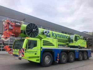 * PREORDINE – 2Q-2021 * – Kynningsrud Nordic Crane Demag AC250-5 Mobile Crane – IMC – 32-0115 – 1:50