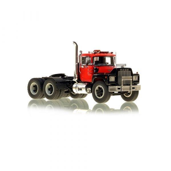 Mack® R Tandem Axle Tractor - Red over Black - NZG - VFR103-2 - 1:50