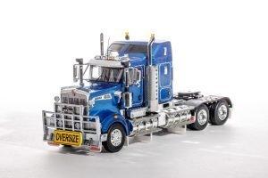 Metallic Blue; KENWORTH T909 – 1:50 – WSI – Z01463