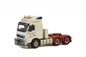 Peter Tippet Haulage; VOLVO FH3 GLOBETROTTER XXL 6X4 – WSI – Z01416 – 1:50