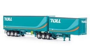Toll; MAXITRANS EZILINER B DOUBLE SET TOLL – WSI – ZT09203 – 1:50