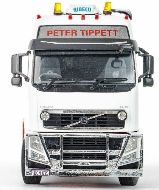 VOLVO FH3 Globetrotter XXL 6x4 PETER TIPPET - DRAKE - 02-2168 - 1:50