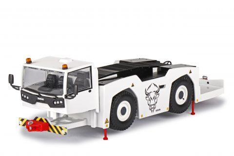"GOLDHOFER K4 Aircraft bar tractor ""BISON"" – CONRAD – 5518-0 – 1:50"