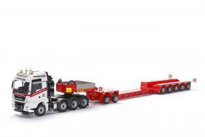 FAYMONVILLE Variomax Drop center semi-trailer with MAN TGX XXL – CONRAD – 76213/01 – 1:50