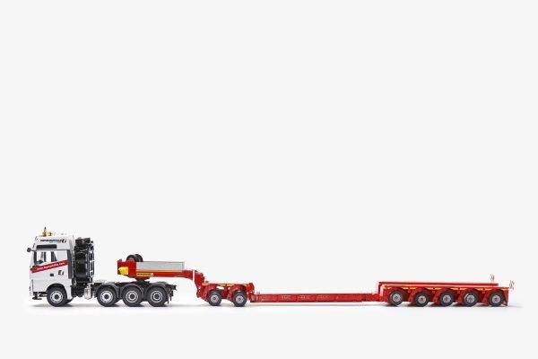 FAYMONVILLE Variomax Drop center semi-trailer with MAN TGX XXL - CONRAD - 76213-01 - 1:50