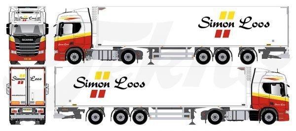 * PREORDINE - Q4-2021 * Simon Loos - Tekno - 81415 - 1:50