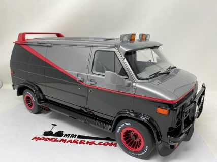 GMC – VANDURA A-TEAM VAN – 1983 – GREENLIGHT – 1/12 – BESPOKE