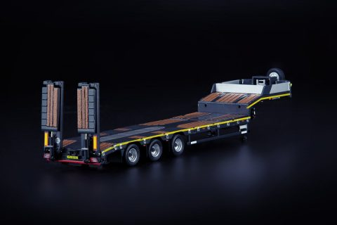 Grey Series 3-axle Semi Low Loader – IMC – 33-0168 – 1:50