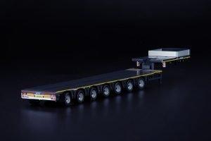 Grey Series Nooteboom MCO Semi Low Loader 7 Axle – IMC – 33-0165 – 1:50