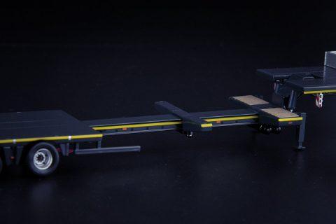 Grey Series Nooteboom MCO Semi Low Loader 8 Axle – IMC – 33-0166 – 1:50