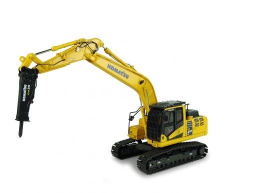 Komatsu PC210LC-11 with hammer drill - UH8140