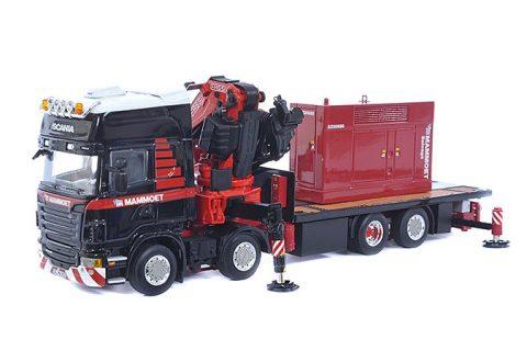 Scania R480 8×2 + Generator – Mammoet – 410201 – 1:50