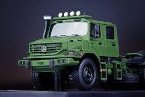 Mercedes-Benz Zetros Dual Cab 6×6 Army Green – IMC – 32-0088 – 1:50