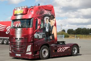* PREORDINE – Q2-2021 * Transport Beau; VOLVO FH4 GLOBETROTTER XL 4X2 – WSI – 01-3274 – 1:50