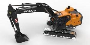 Volvo EC160E – Hydraulic RC Excavator – full metal – Double e Hobby – 1:14