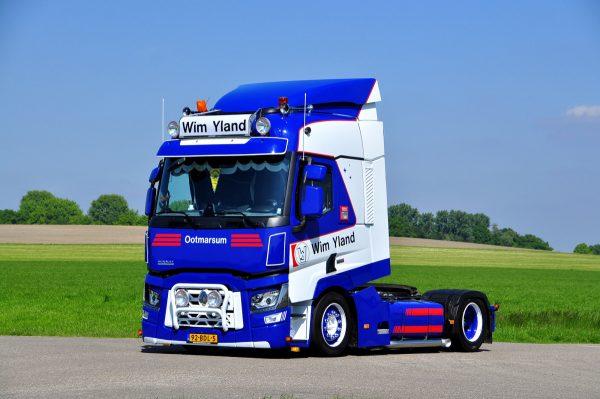 * PREORDINE - Q3-2021 * Wim Yland; RENAULT TRUCKS T 4X2 - WSI - 01-3402 - 1:50