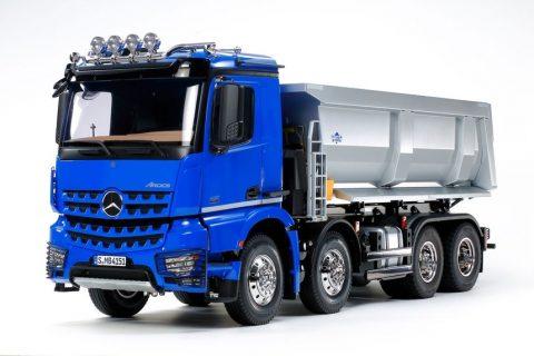 Tamiya rc MB Arocs 4151 8×4 tipper truck – 1:14
